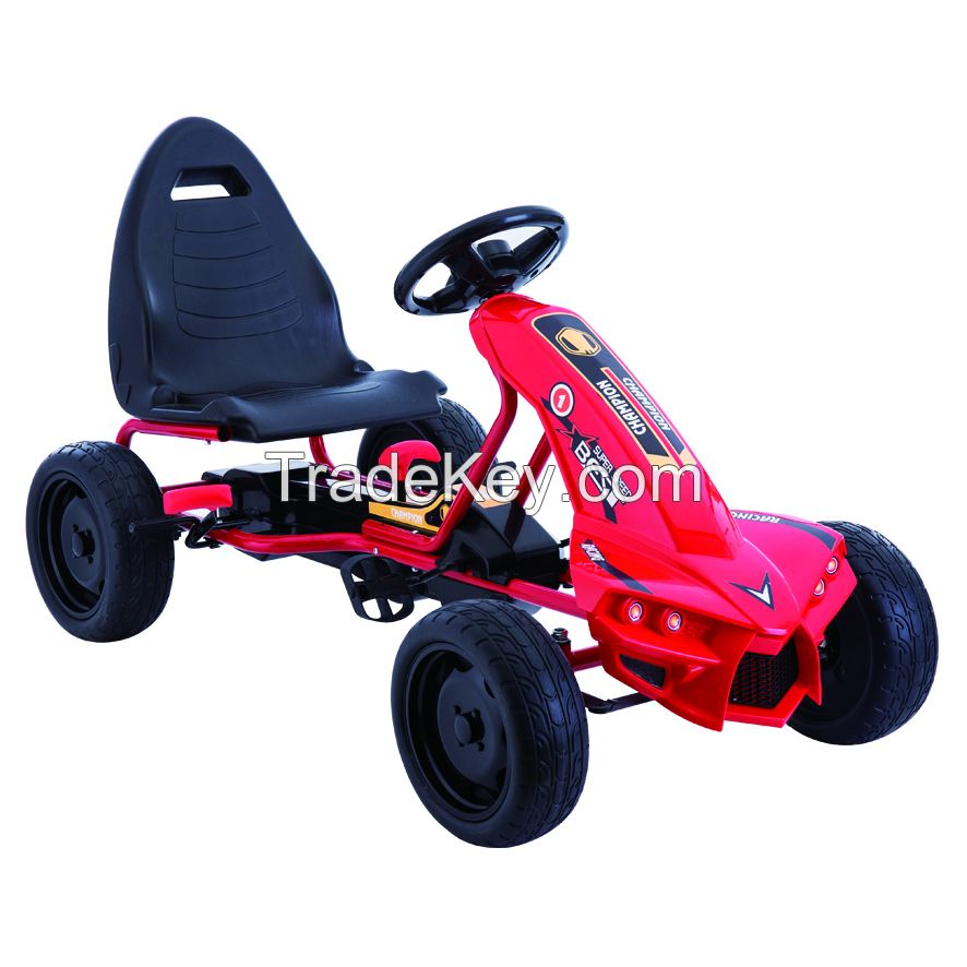 New model children pedal go karts kids ride on