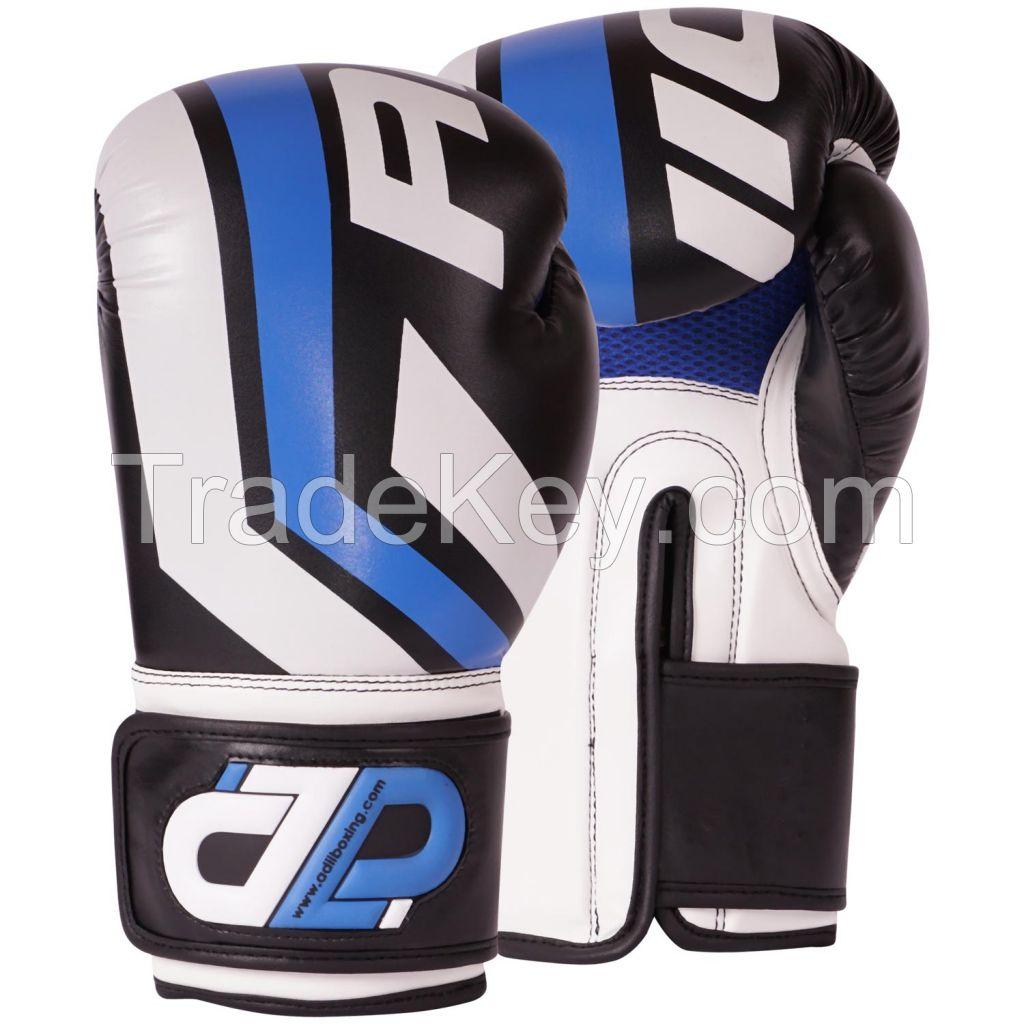 ADii Pro-Style Microfiber Skin-Tec Leather Boxing Gloves / Training Gloves | Boxing | MMA | KICKBOXING | MUAY THAI