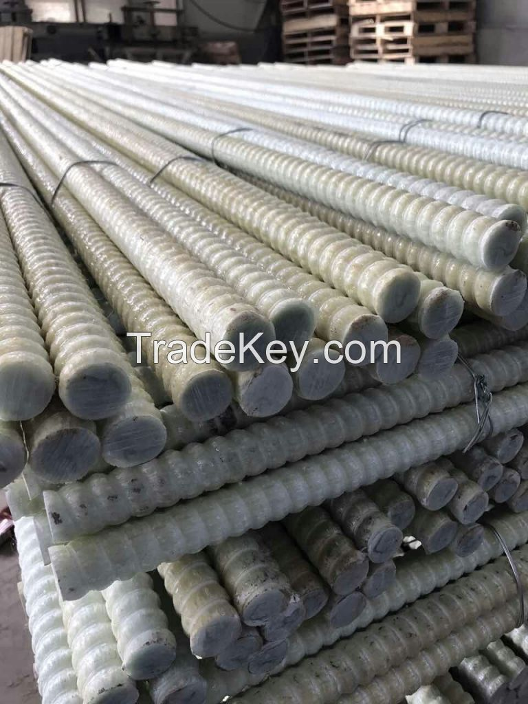 16mm-27mm FRP bolt 2000mm length FRP rebar use in mining and tunneling
