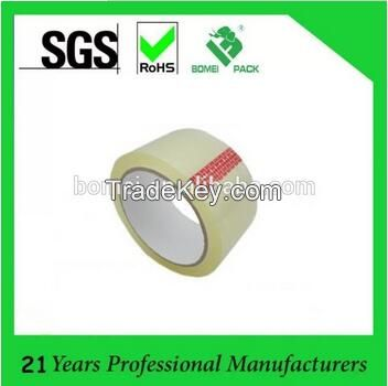 Acrylic adhesive transparent packing tape for carton packing