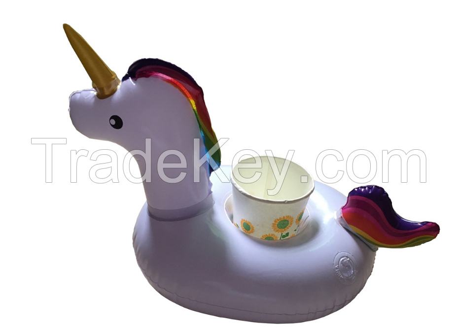 Inflatable Toys Unicorn Cup Holder