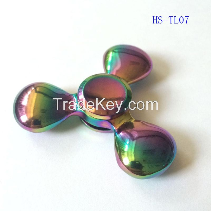 Rainbow Fidget Spinner Metal EDC hand Spinner spinner Anti-stress handspinner Spinners Decompression Novelty Toy