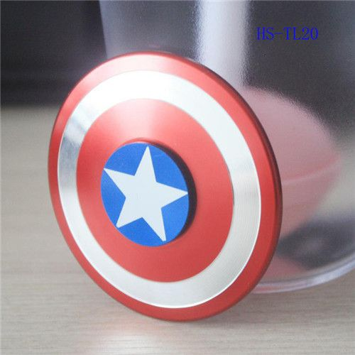 high quality HandSpinner Fingertips Spiral Fingers Fidget Spinner EDC Hand Spinner Metal Fidgets Toys Gyro Toys