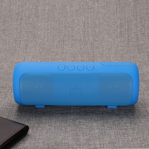 Bluetooth Speaker  Wireless Portable Speakers with Waterproof, HD Sound, More Bass, 6W+ Power, 15H Playtime for Home, Outdoor