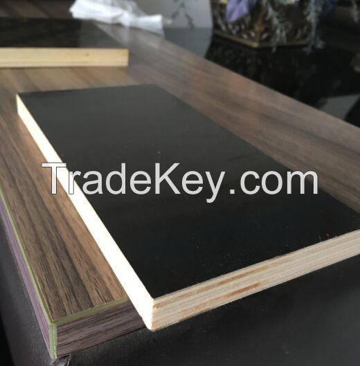 12mm/15mm/18mm black/brown film faced plywood for construction