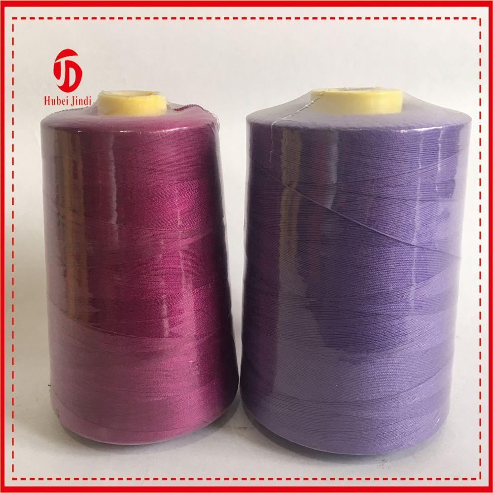 Spun polyester sewing thread 5000yard Shrink wrap Industrial use
