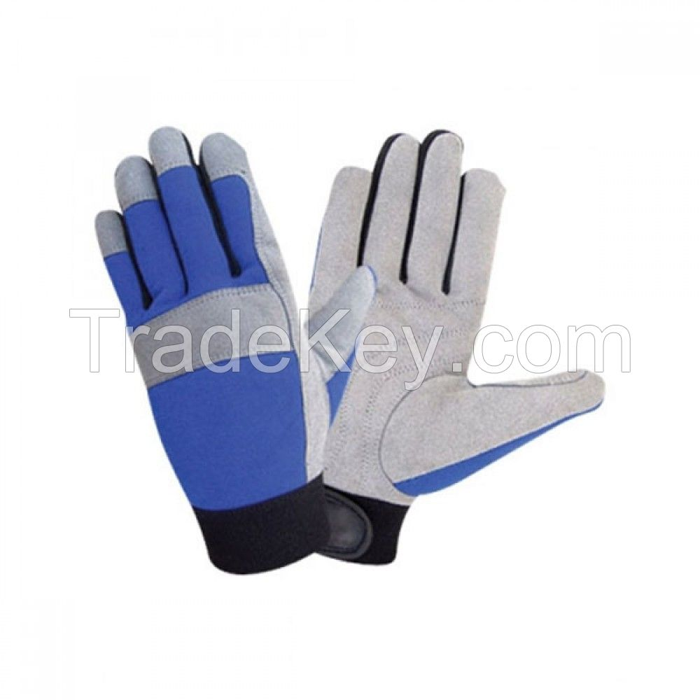 Custom Split Leather Work Safety Gloves for workers
