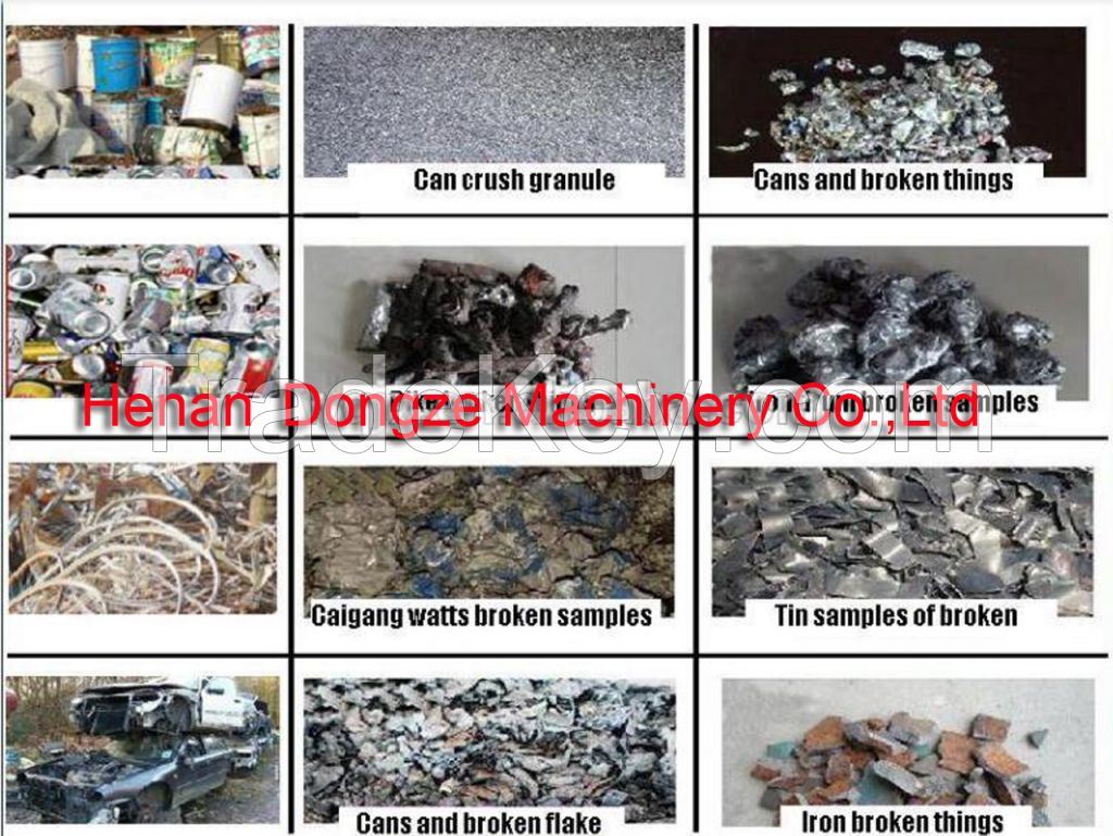 Large-scale scrap metal shredder, metal crusher, waste metal crusher for sale