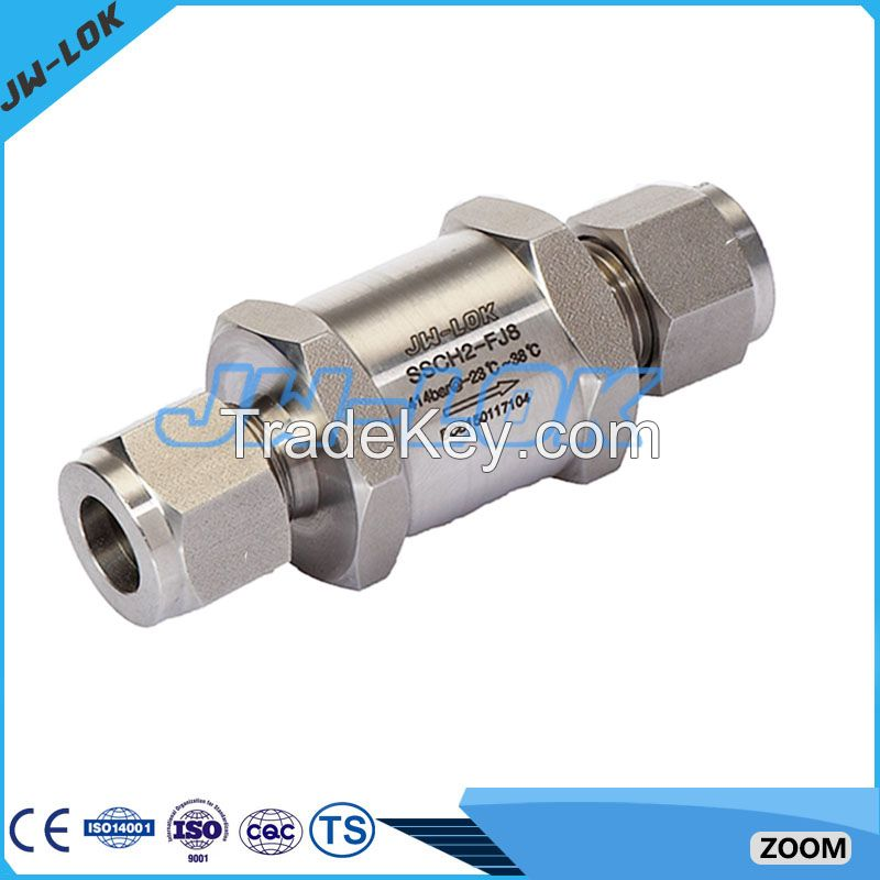 High pressure no return valve with high quality