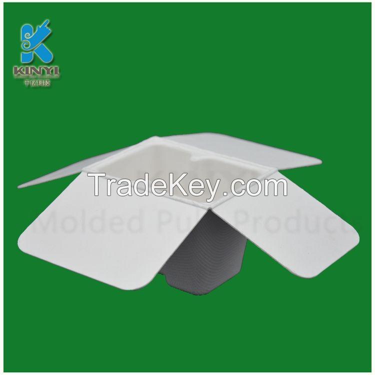 Custom biodegradable paper pulp moulding packaging