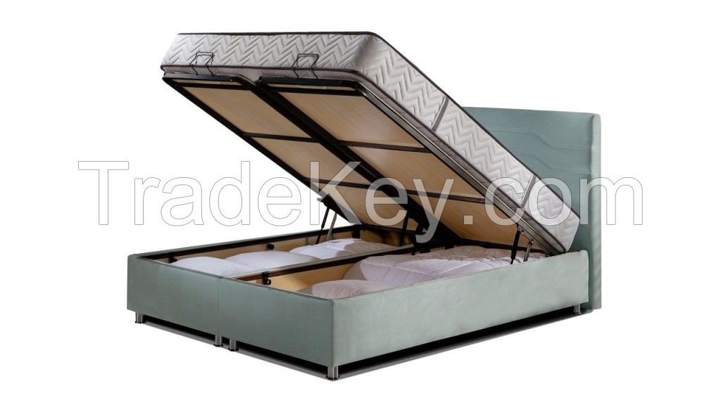 BESTSELLING! Boxspring with storage
