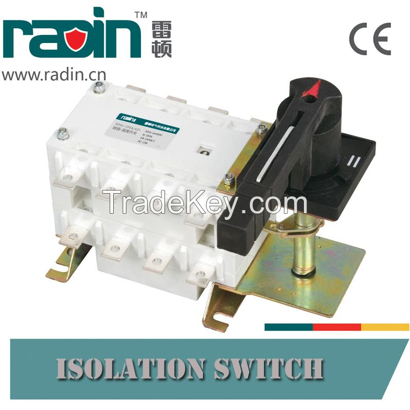 Manual Change Over Switch for Back up Generators