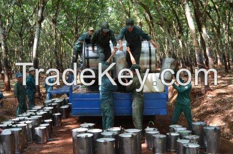 NATURAL RUBBER LATEX HA 60% DRC