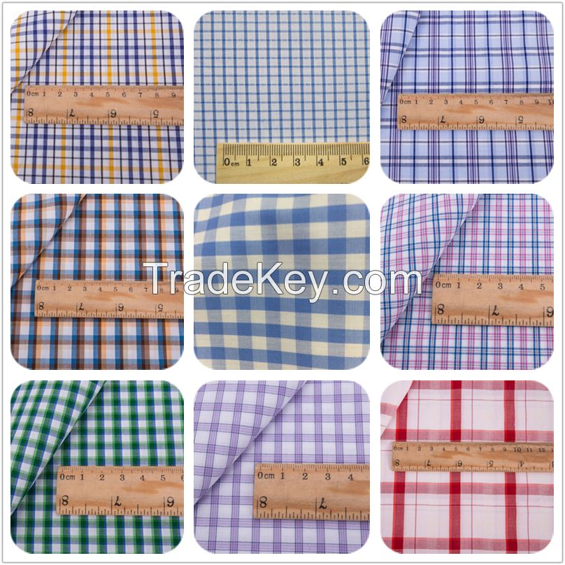 Yarn-dyed Checked Bamboo Fiber Fabric For Shirt