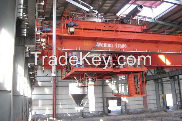 Multifunction Crane for Electrolytic Aluminum