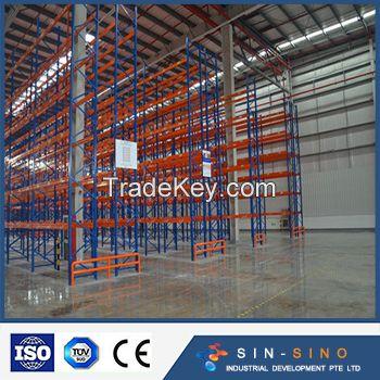 Heavy Duty Warehouse Steel Storage Pallet Racking System