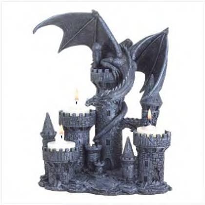 Dragon  Halloween tealight holder