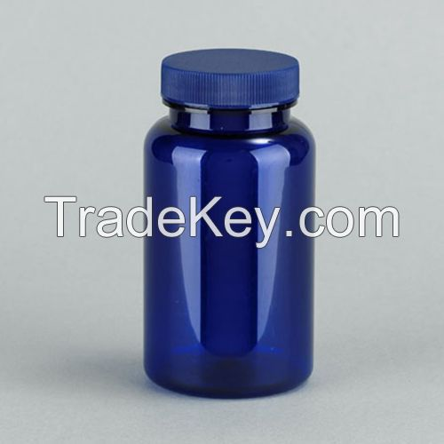PET Plastic Bottles Blue