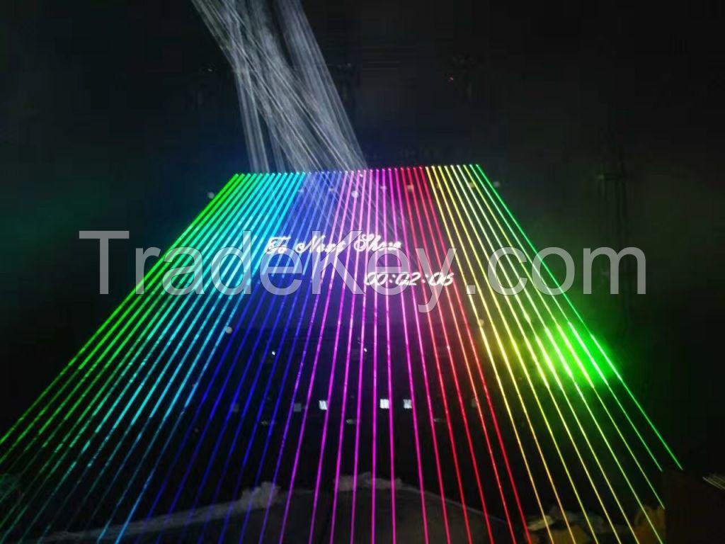 Unique Rgb Laser Array Display System,Laser Projector,Disco Lighting ,Stage Light for Laser Show