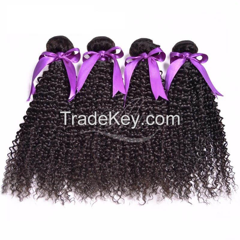 7A Brazilian Kinky Curly Human Hair