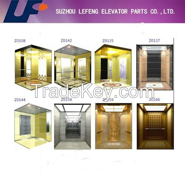 China OEM  Room/Roomless 400kg-1000kg load elevator
