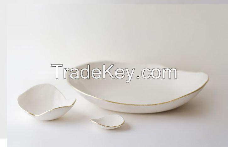 color shape porcelain dish