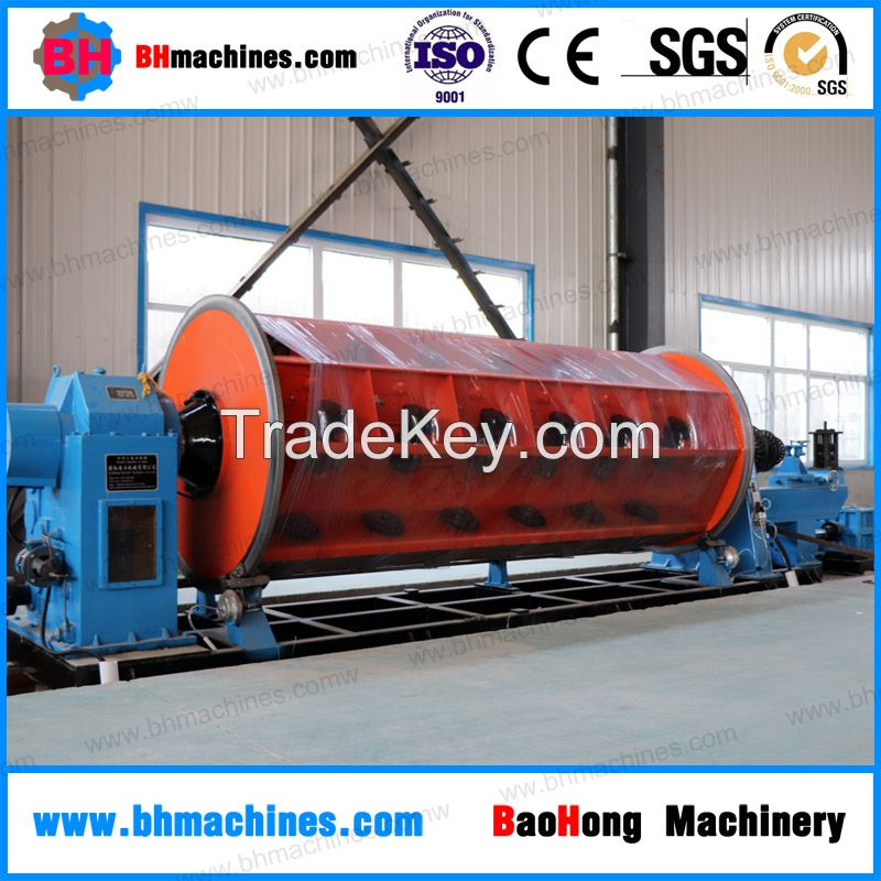 High speed good quality rigid frame copper conductor wire stranding machine