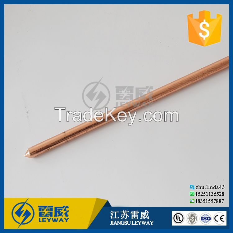 Pure Copper Ground Rod for Earth System