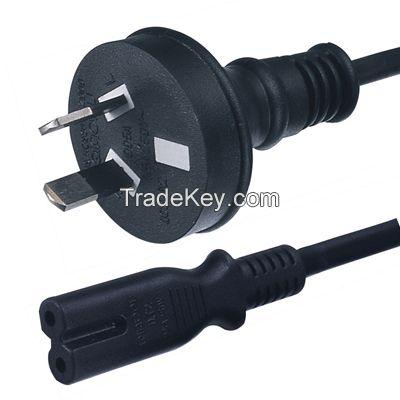 2 Pin 10A 250V Australian standard power Plug