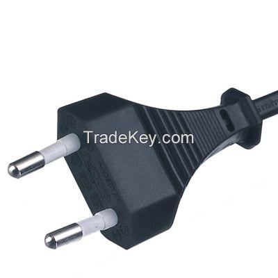 2PINS 2.5A 250V VDE standard Power Cord