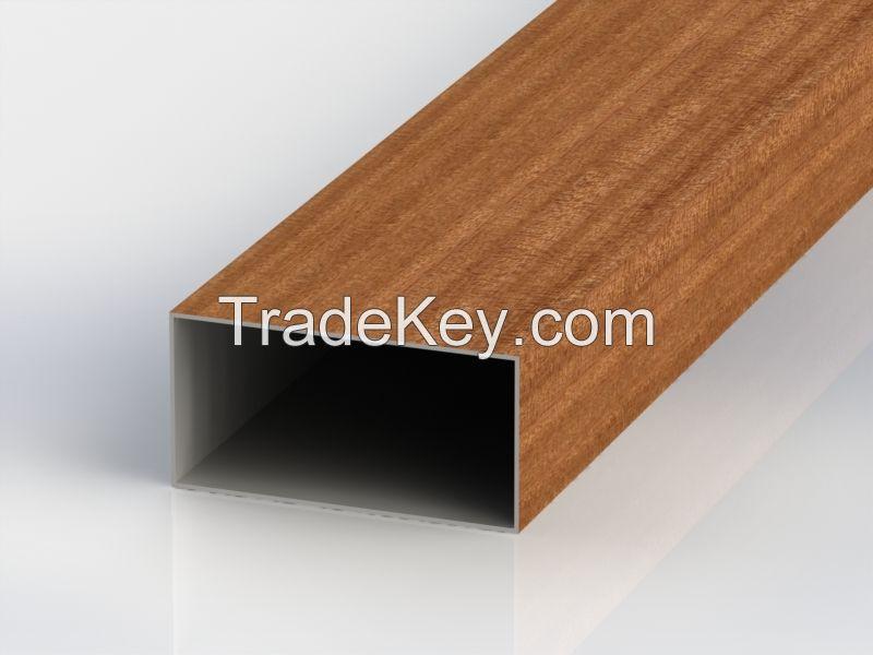 hollow aluminium profile