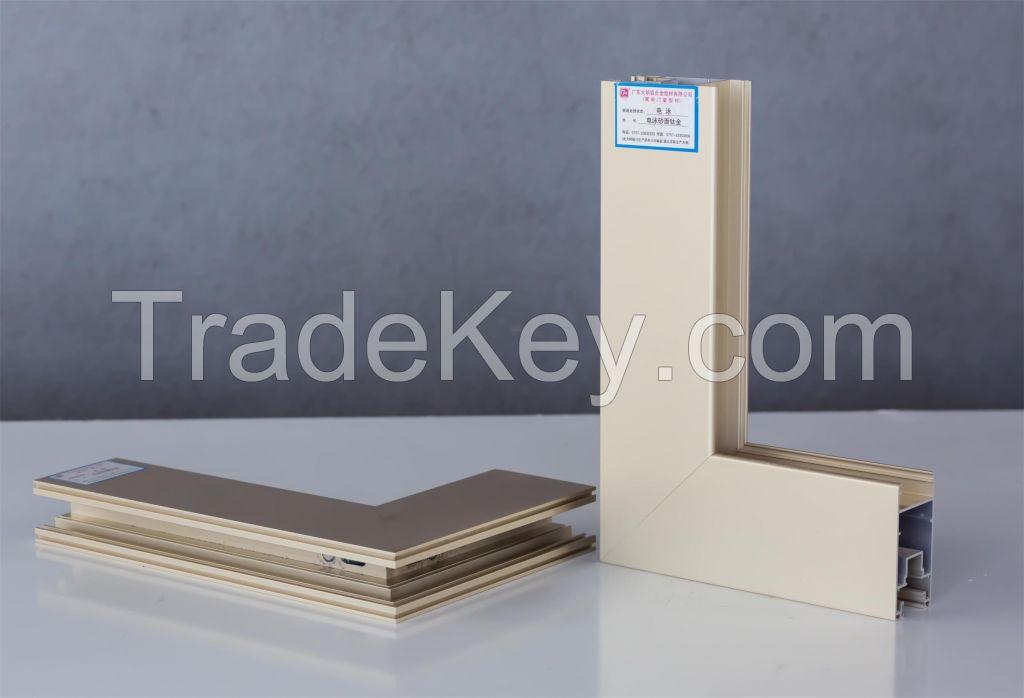 aluminium construction profiles
