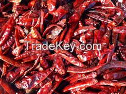DRY RED HOT CHILLI PEPPER