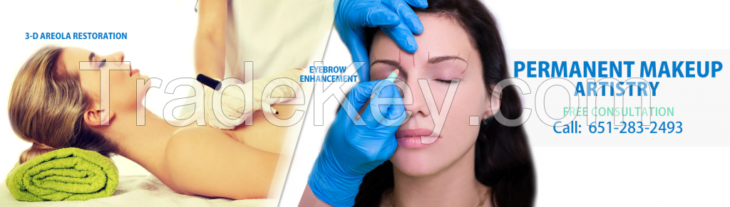 Enhance your eyes, lips, and brows with permanent makeup in Palm Beach