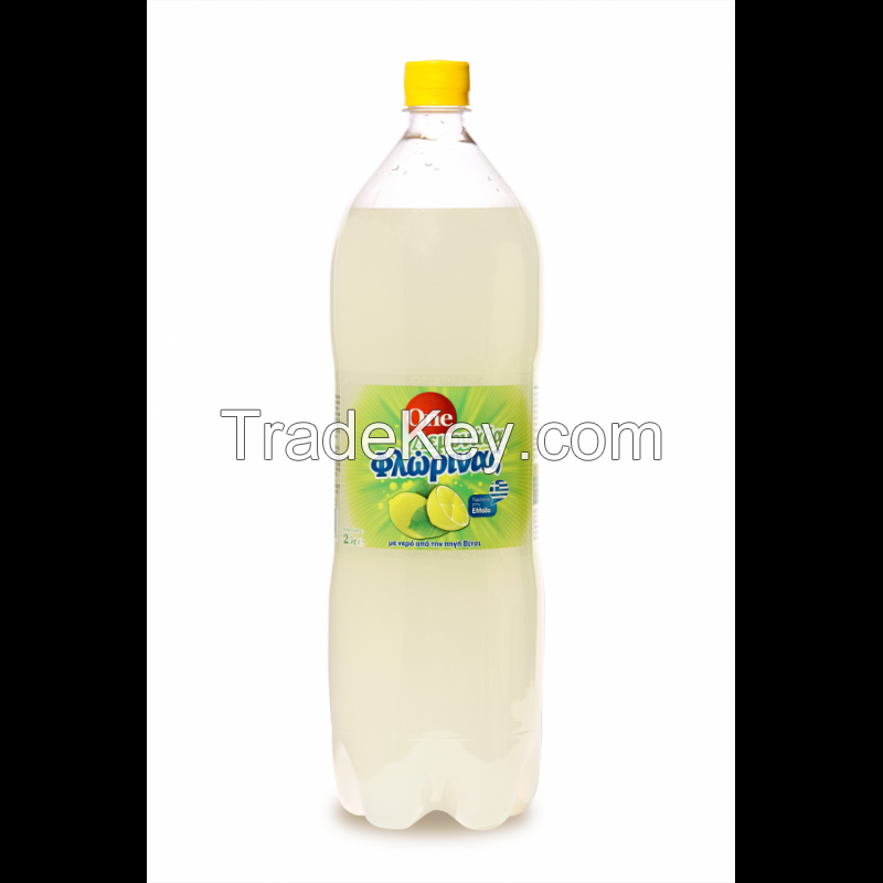 Various carbonated soft drinks