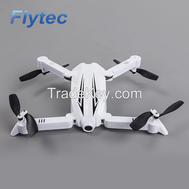 Flytec T13 mini foldable quadcopter APP control pocket drone 3D ...