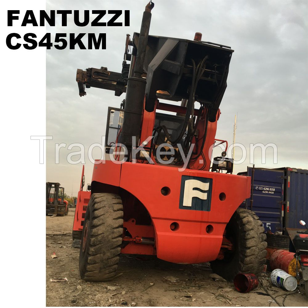 Used cheap Fantuzzi CS45KM 45ton container reach stacker for sale