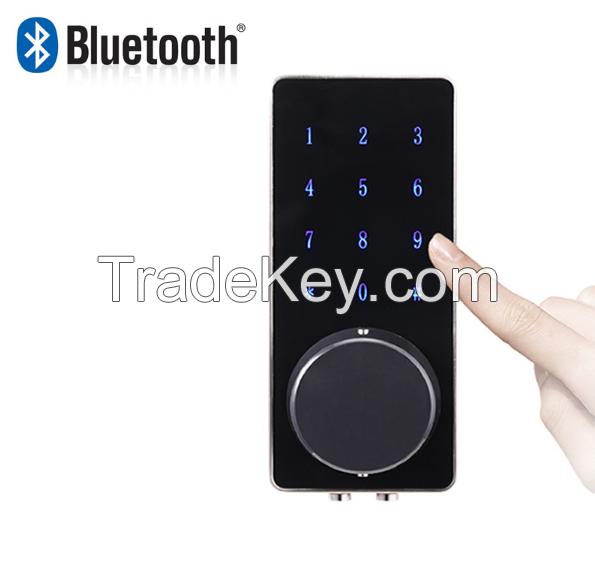 Remote Control Touch Screen Bluetooth Smart lock hotel door locks mobile phone app open door
