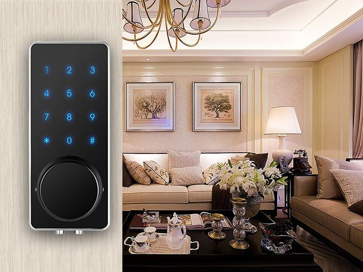 Smartphone APP Bluetooth remote door lock Architectural Hardware Bluetooth APP Door Locks Keyless