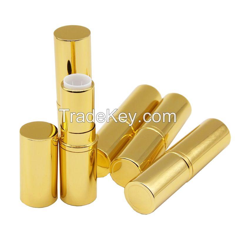free sample gold lipstick tube china manufacturer