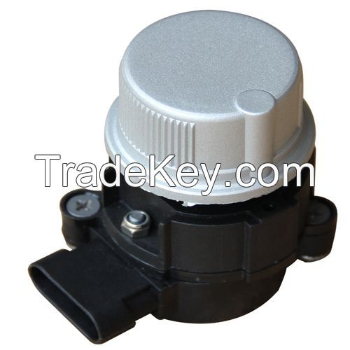 Rotary electronic remote throttle