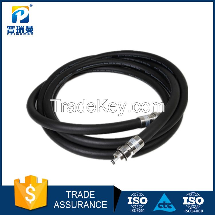 petrol station vapour recovery hose for environment protection