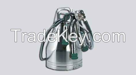 Single Bucket Milking Machine (100 lpm Dry Pump)