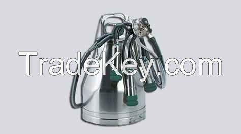 Single Bucket Milking Machine (100 lpm Dry Pump)