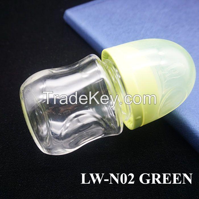 Anti-broken High Borosilicate Glass Feeding Bottle