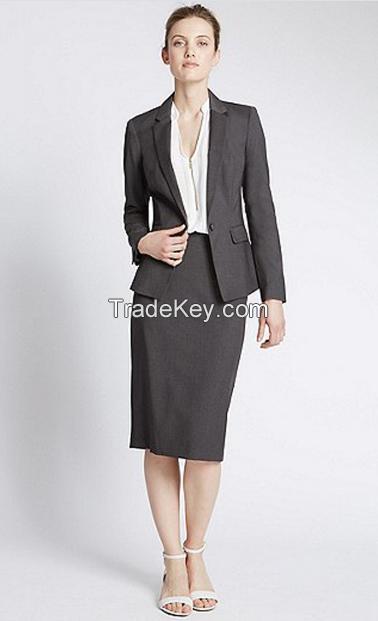 Formal ladies OL suits 2017 office uniform designs women elegant business