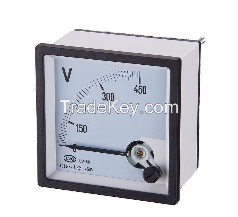 measuring instrument analog panel indicator voltmeter 0-600V