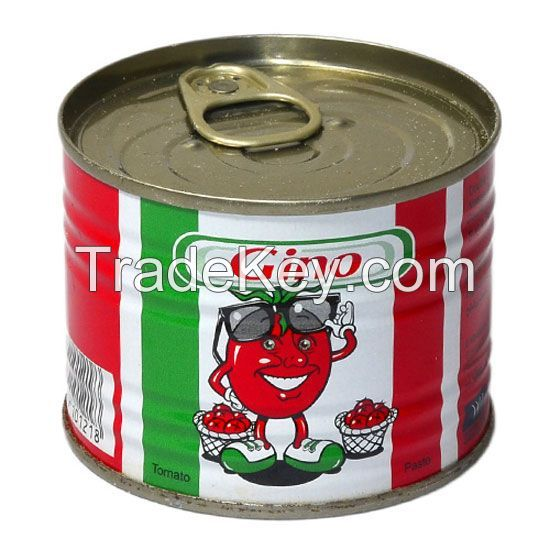 Supply different size canned peeled tomato 400g