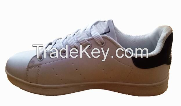 TPR outsole PU upper material running shoes type sport shoes skateboard shoe
