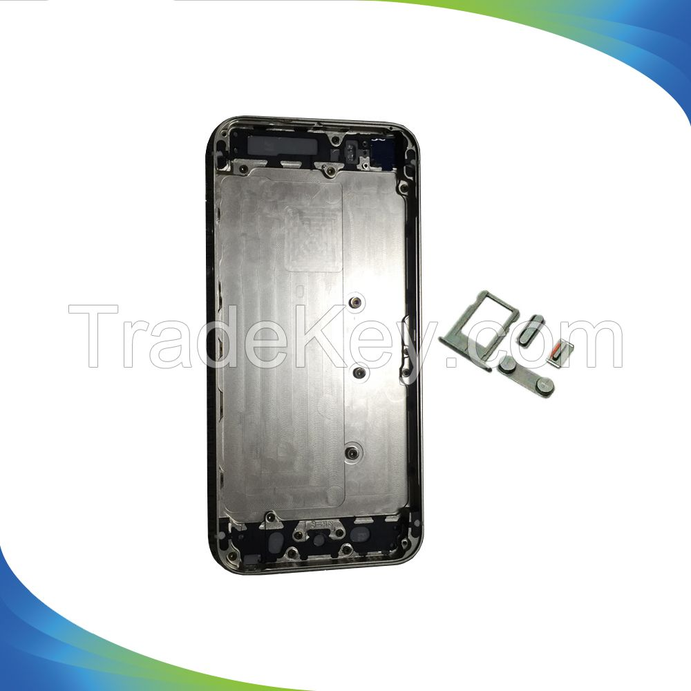 Back Cover Battery Door Chassis Frame Housing For iPhone 5S